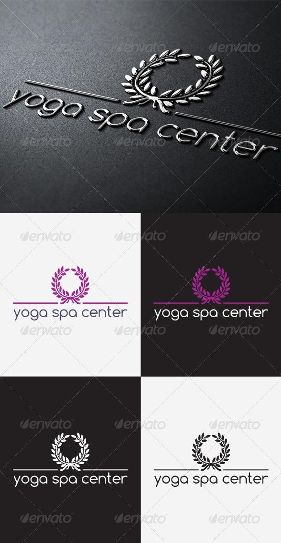 Yoga And spa Center Logo