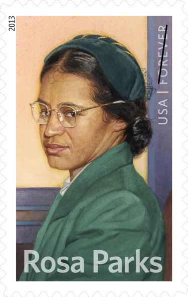 Rosa Parks, sparked a major flame in the Civil Rights movement when she refused to give up her bus seat to a white rider, and was arrested.