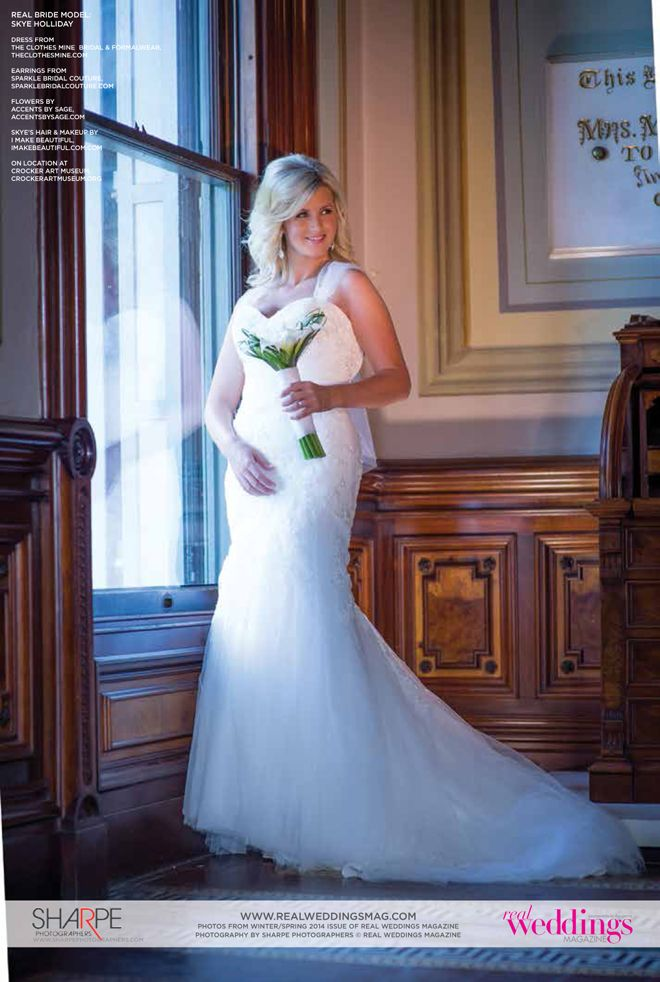 "From the ""Beautiful Works of Art"" Cover Model Contest feature in the Winter/Spring 2014 issue of Real Weddings Magazine, Photography by www.SharpePhotographers.com © Real Weddings Magazine, www.realweddingsmag.com. To see more, including a full list of all of the professionals on this shoot, visit: http://www.realweddingsmag.com/real-weddings-cover-model-finalist-skye-holliday-beautiful-works-of-art/: Daily Dose, Contest Features, Holliday, Art Skye, Covers Models, Beautiful Work, 2014 Issues, Winter Spr 2014, Full Lists"
