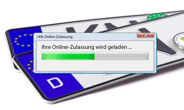 Auto Online Zulassen