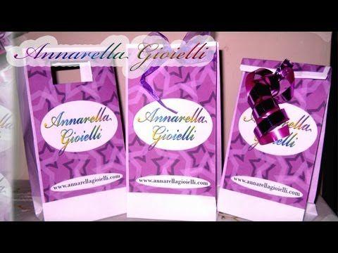 ▶ Tutorial sacchetto personalizzato | Bustine di carta facili facili | Paper bag tutorial - YouTube