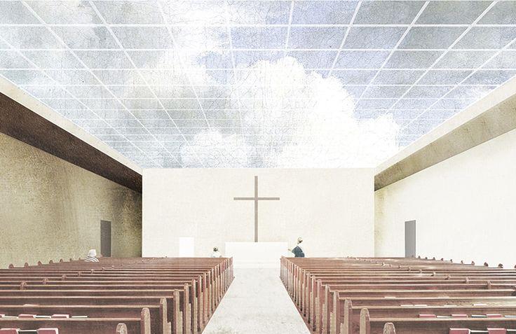 Kościół Nowe Żerniki - Projekt konkursowy - Znamy się