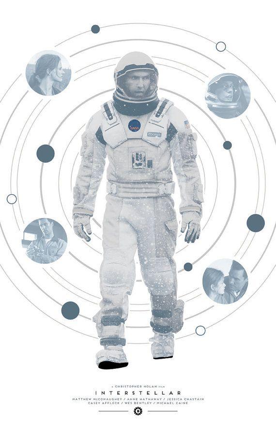 Interstellar Film Poster by sap41387 on Etsy