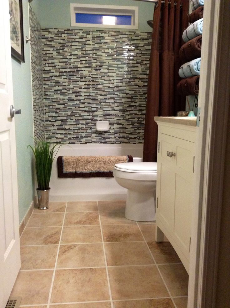 For my bathroom nice floor tile and shower tile for the for Washroom renovation ideas