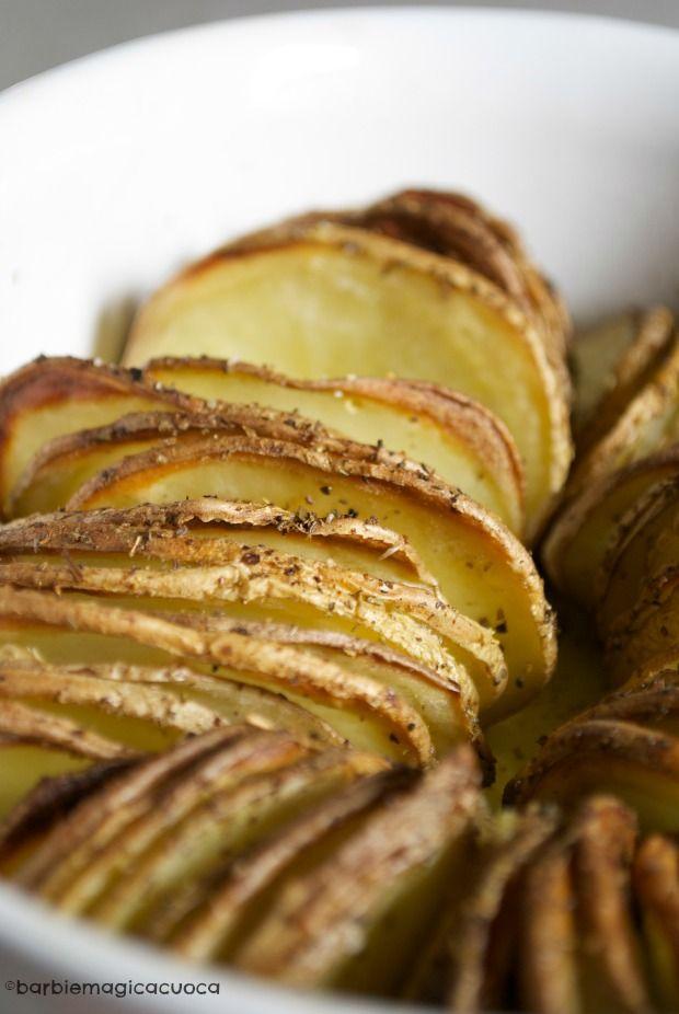 un'idea per valorizzare le materie prime dei nostri partner: #Patate al forno croccanti con la buccia. #bioeticonet