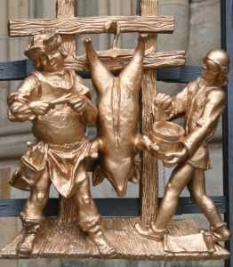 zlatá brána Svatovítské katedrály