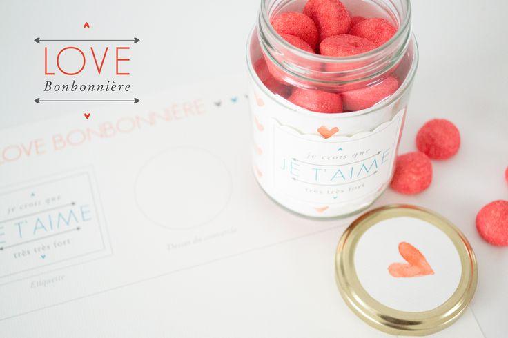 DIY : la Love Bonbonnière de Saint Valentin