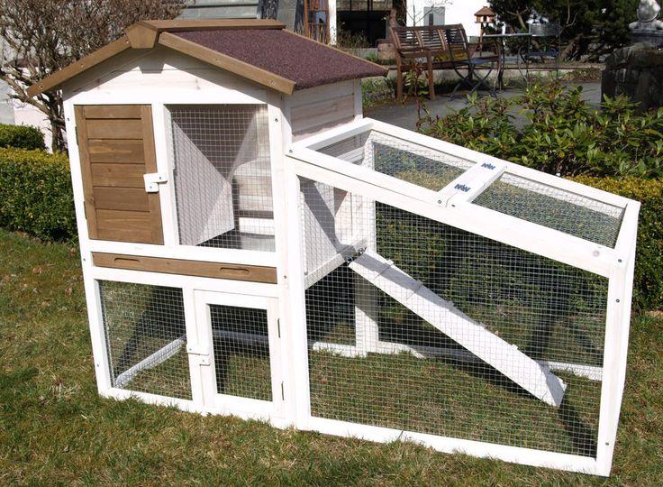 kleintierstall hasenstall kaninchenstall hasenk fig loft kaninchen heim leben pinterest loft. Black Bedroom Furniture Sets. Home Design Ideas