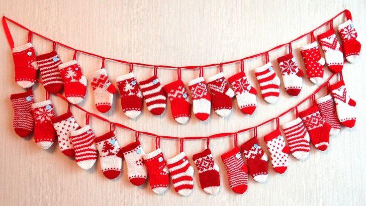 адвент календарь носки: