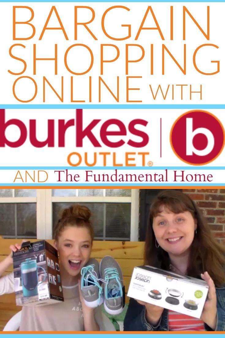 Burkes outlet online shopping