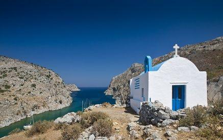 Ein typisches Ferienhaus auf Kos in Griechenland