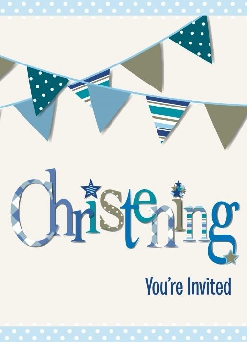 Christening Invitations | Baptism Party Supplies | Party Supplies and Decorations