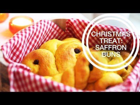 RECIPE : christmas treat – saffron buns | jenny mustard