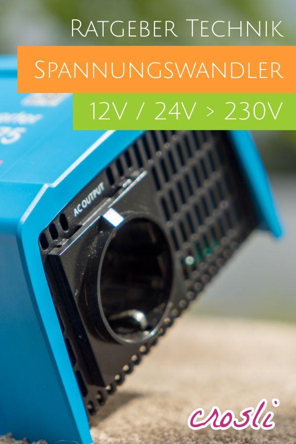 Spannungswandler 12V > 230V Wechselrichter kaufen und
