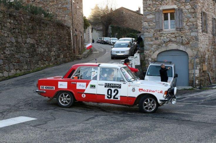 Polski-Fiat 125P, 1978 - Rallye Monte-Carlo Historique 2016 - diaporama photo Motorlegend.com