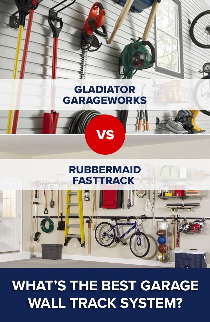 When It Comes To Finding The Best Garage Wall Track System