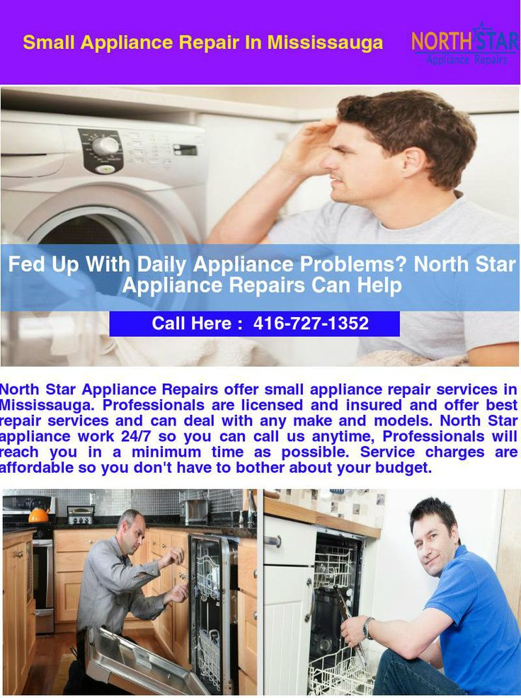 North Star Appliance Repairs delivers small appliance