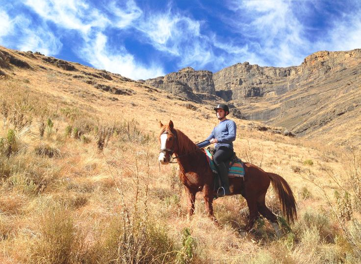 Horse Trails in the Maluti mountains #malibalodge #horsetrails #lesotho