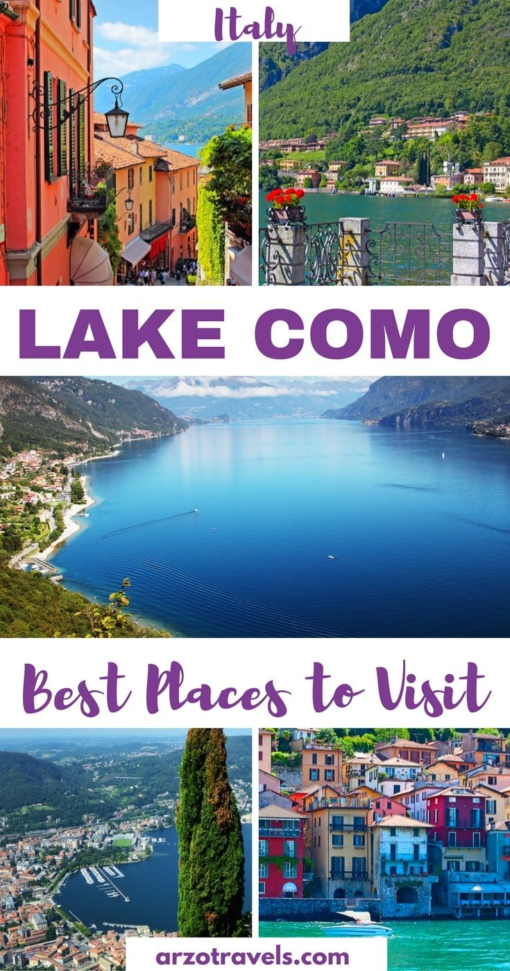 Places to see in Lake Como, Italy,