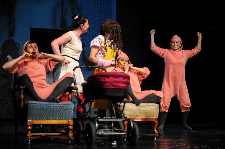 The House. Performance at the Miniatura City Theatre. Photo by Piotr Pędziszewski