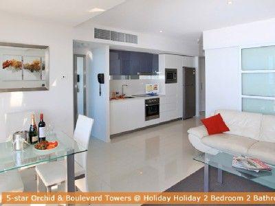 Surfers Paradise apartment rental - H Residence above Hilton Surfers Paradise $1750
