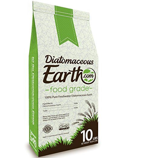 Diatomaceous Earth Food Grade 10 Lb meets U.S. Food chemicals codex standards. Pest control, parasite detox Improves hair and skin. Organic natural product - safe for human or animal consumption. No additives - 100% pure freshwater diatomaceous earth. No contaminants - professionally packaged using stainless steel machinery