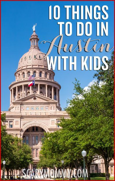 Planning a family trip to Austin, Texas? Get great tips and ideas for things to do with the kids in Scary Mommy's travel guide! summer   spring break   vacation   parenting advice