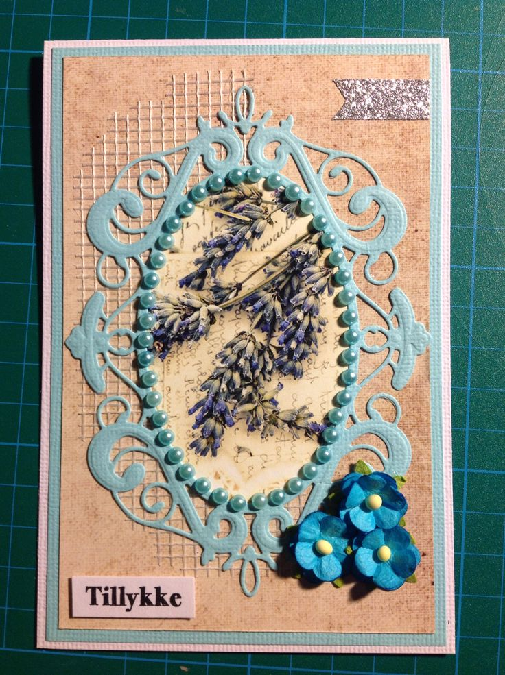 Memory Box Palace Oval Frame. Dixi Craft Toppers. Fødselsdagskort.