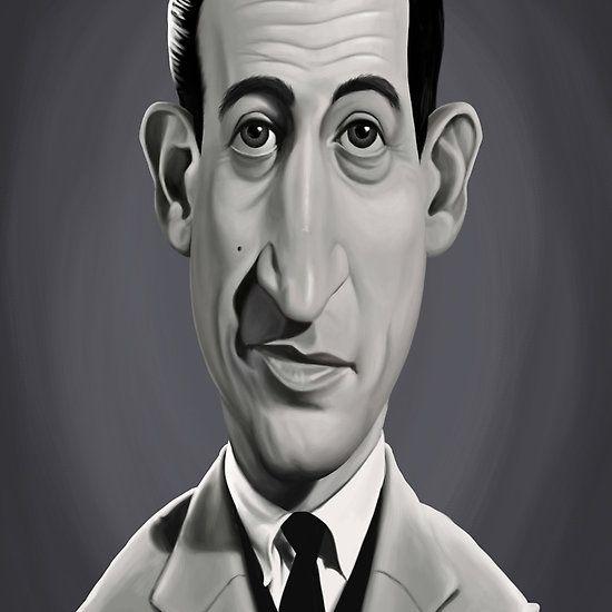 J.D.Salinger art | decor | wall art | inspiration | caricatures | home decor | idea | humor | gifts