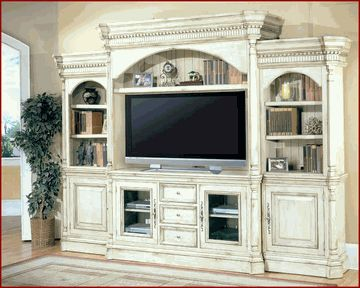 Parker House Entertainment Wall Unit Westminster PH-WES-600-5WS $3600 Like taller tv console 35""
