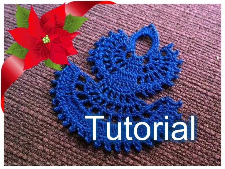 Tutorial 20. * Angelo di Natale * all' Uncinetto . How to Crochet a Christmas Angel