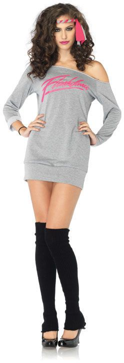 Flashdance Costume - Leg Avenue Costumes at Escapade™ UK - Escapade Fancy Dress on Twitter: @Escapade_UK