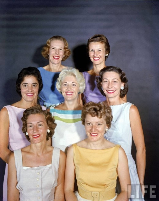 Astronauts' Wives, 1959