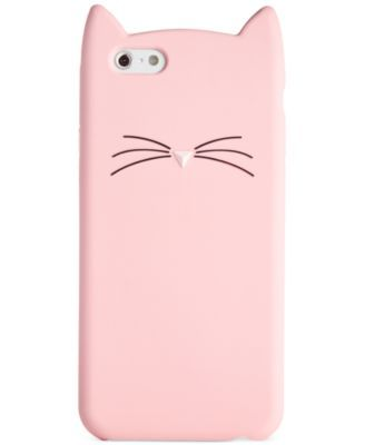 kate spade new york Cat Silicone iPhone 6 Case