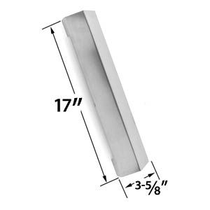 TERA GEAR SRGG41122 GAS MODEL REPLACEMENT STAINLESS STEEL HEAT SHIELD