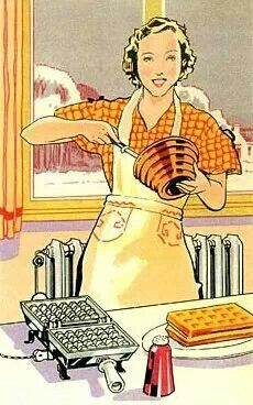 Vintage cooking illustrations images for Art cuisine evolution 10 piece cooking set