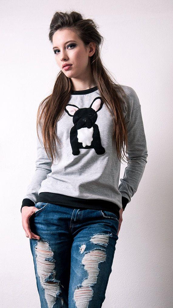 frenchie sweater, french bulldog sweater, dog sweater