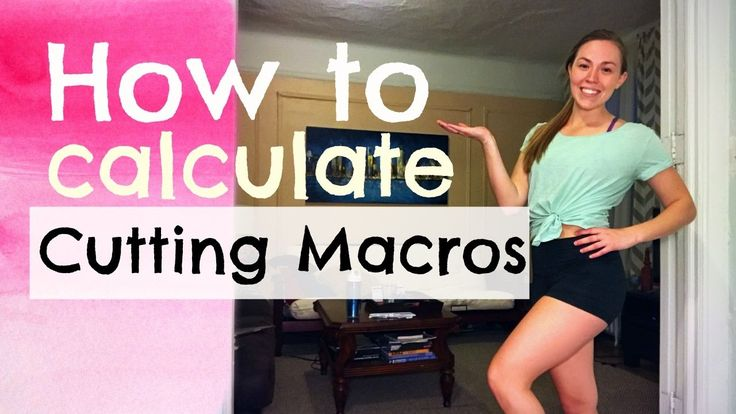 Calculating Macros for Weight Loss | My First Cut Ep. 1