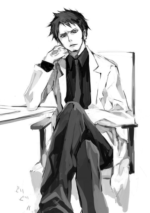 Trafalgar Law if you were my doctor damn I will do anything to get sick. Just kidding..