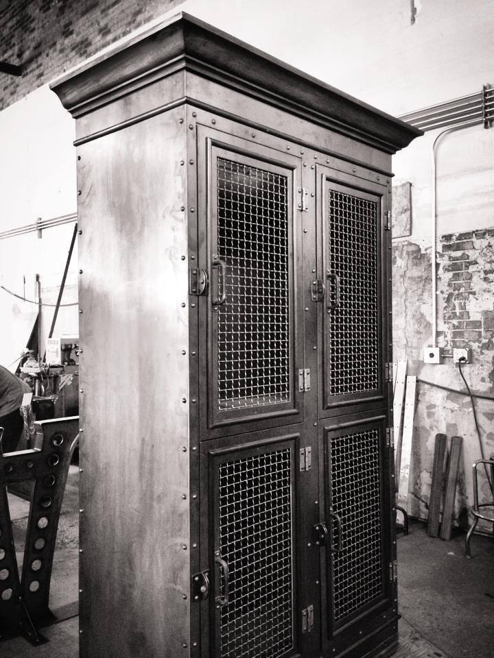 Storage cabinet by Vintage Industrial