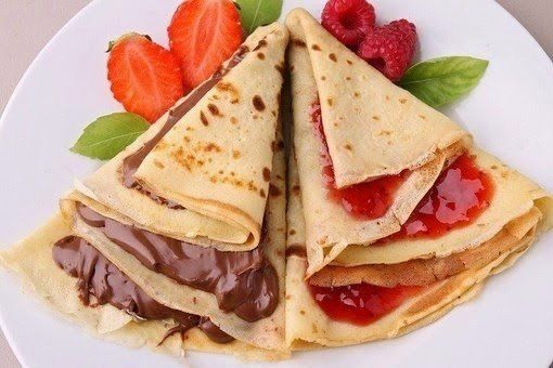 How to cook pancakes thin and strong