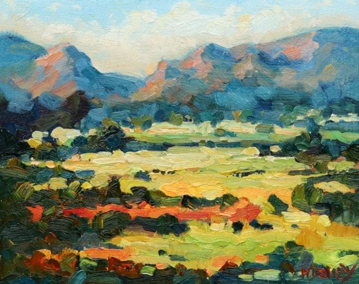 Height of Summer oil painting by Malcolm Dewey