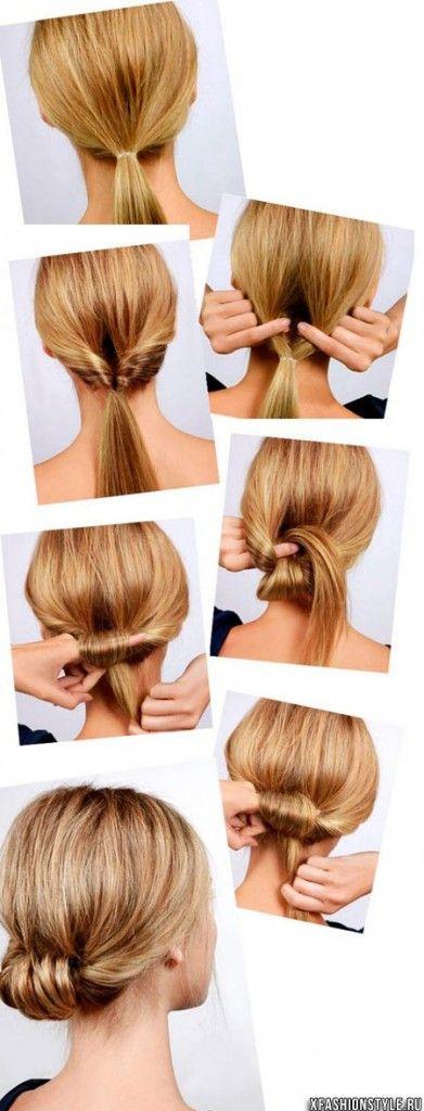 Быстрые повседневные прически на длинные волосы