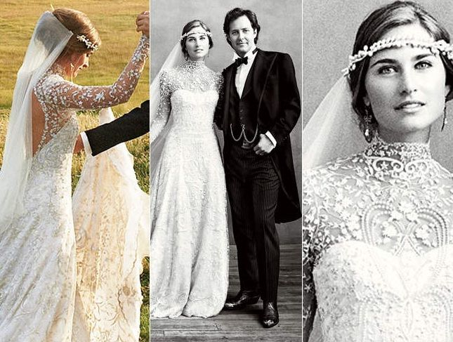 Lauren Bush: my personal wedding of the year. Strikes every elegant chord: Victorian drama, natural bearing, high glamour and total ease. An effortless bride. The stunning backdrop doesn't hurt-- nor does marrying into a Ralph Lauren lineage of class.
