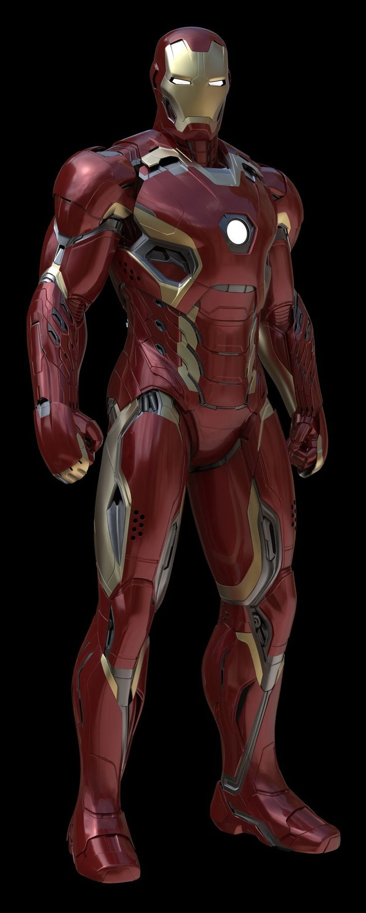 Avengers Concept Art | IRON MAN Mark XLV