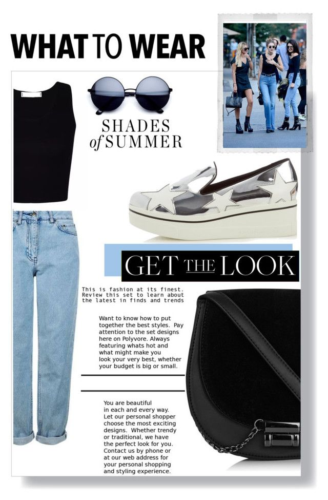 #GTL. by nka12 on Polyvore featuring polyvore, moda, style, Topshop, STELLA McCARTNEY, Baldwin, Polaroid, fashion and clothing