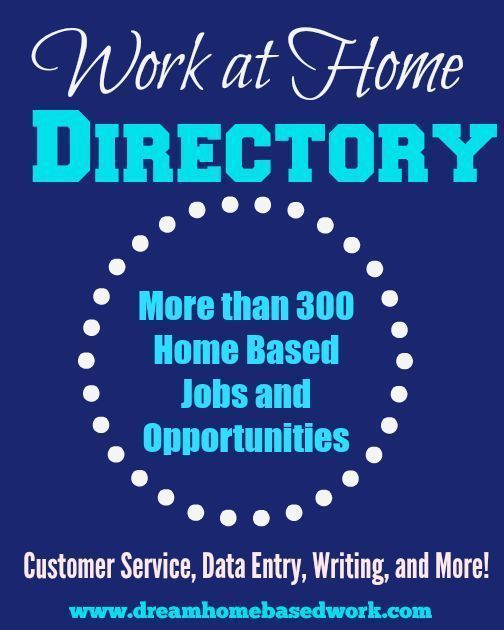 Free Work at Home Job Directory -  Jobs for Stay at Home Moms, Teen, College Students, and Freelancers.