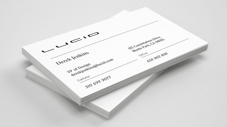 New Logo and Identity for Lucid Motors by Tolleson ...
