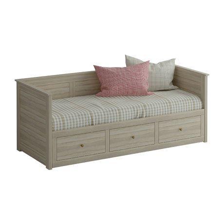 В задвинутом виде кушетка используется как односпальная кровать, в раздвинутом-как двухспальная. Выдвижная часть оснащена тремя ящиками для хранения вещей.