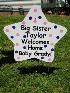 28 Best Baby Yard Signs Images On Pinterest Baby